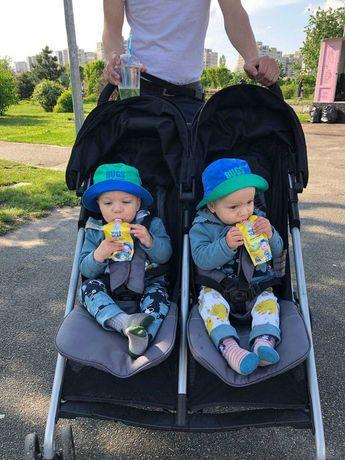 Прогулочная Коляска Трость для двойни, близнецов, погодок. Evenflo USA