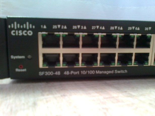 Switch Cisco SF300-48 Port 10/100 Managed