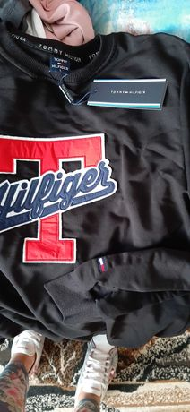 Bluza Tommy Hilfiger M/L meska nowa logowana sliczna