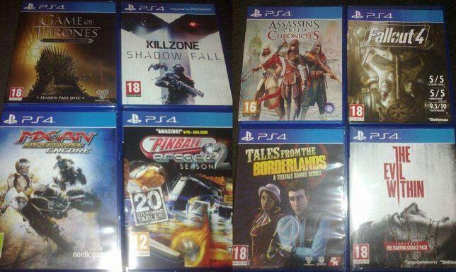 Jogos usados para PS4