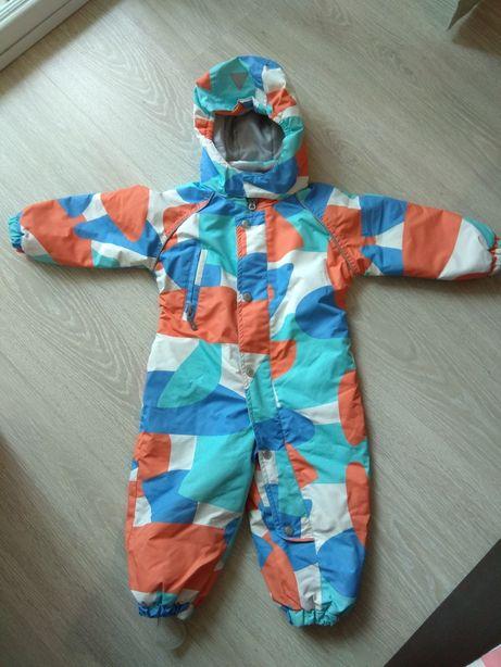 Комбинезон зимний детский для мальчика 80 - 86 см