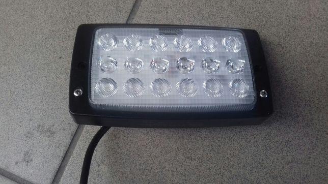 Lampa robocza prostokątna LED, 27W 3375lm światło rozproszone z wtyczk