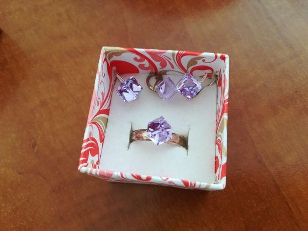 Komplet biżuterii srebro