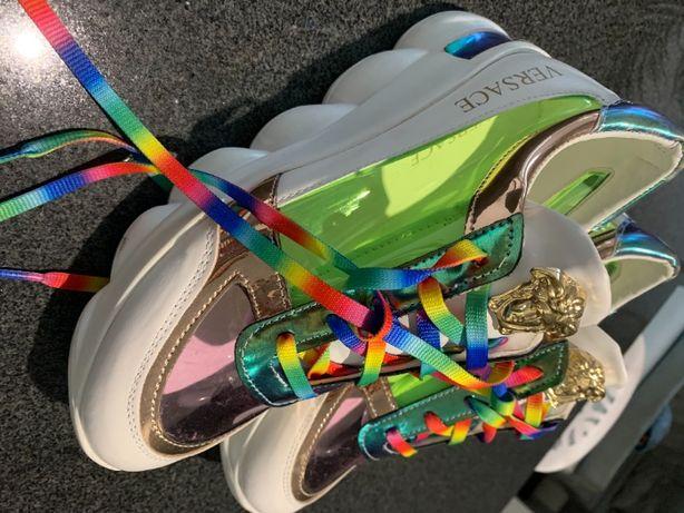 Versace 39 sneakersy fluo