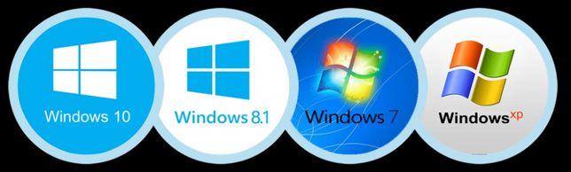 Установка Windows 7,10, XP
