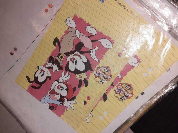 Karteczki do segregatora Animaniacs, kolekcje