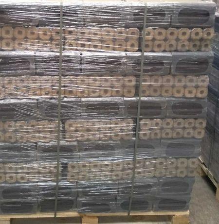 ПродамБрикет изготовлен из чистого дуба,обладает очень высокой теплоот