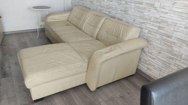 Narożnik  do renowacji sofa skórzana  tanio