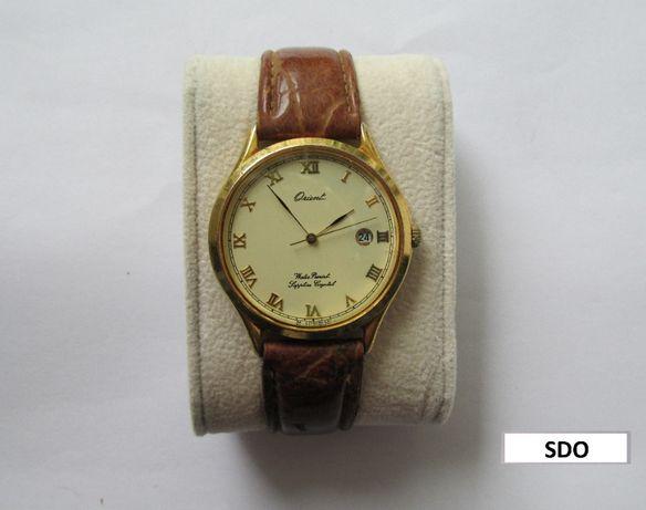 Relógio de pulso Orient, Sapphire Crystal, calendário, resistente água