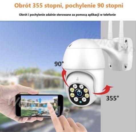 Okazja! Kamera wifi 5mp do domu i biura detekcja ruchu ochrona 24h sd