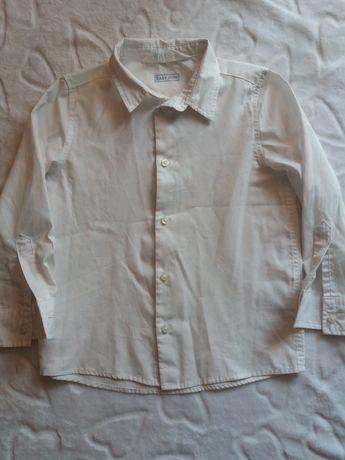 Koszula chłopięca biała H&M 116