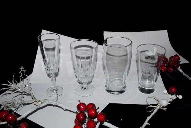 комплект  Стаканы бокалы для мохито хрусталь хрустальные рюмки