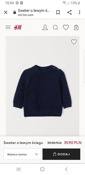 Sweterki H&M  rozmiar 98 Pułtusk - image 1