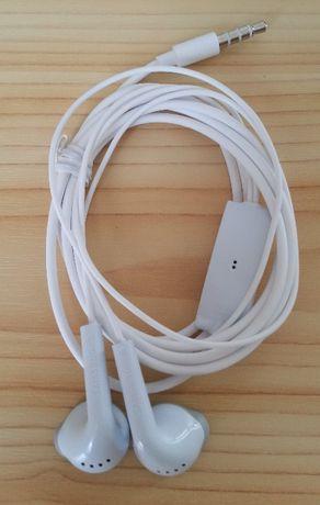 SAMSUNG słuchawki NOWE białe do telefonu mp3 iphone zestaw słuchawkowy