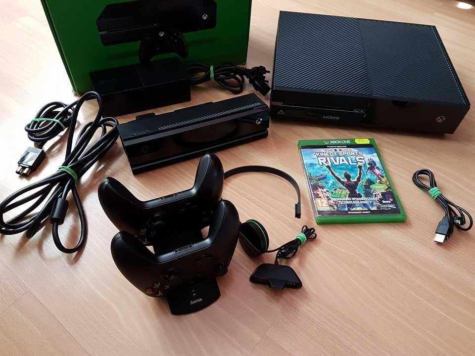 Konsola Xbox one 500Gb z kiectem (kinect xbox one) idealna + wymianna
