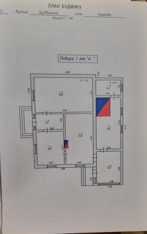 Продам будинок у с. Бернове