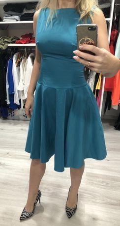 Szmaragdowa sukienka