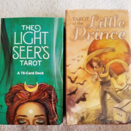 Карты Таро Маленький Принц, Light Seer's Tarot, Таро Светлого Провидца
