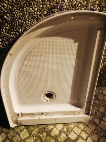 Vendo Base duche Poliban em fibra 100X80