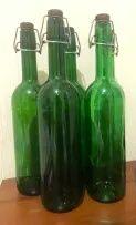 """Бутилки (пляшки) з бугельною пробкою """" флип - топ"""" 750 мл"""