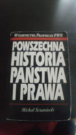 Powszechna historia państwa i prawa M.Szczaniecki