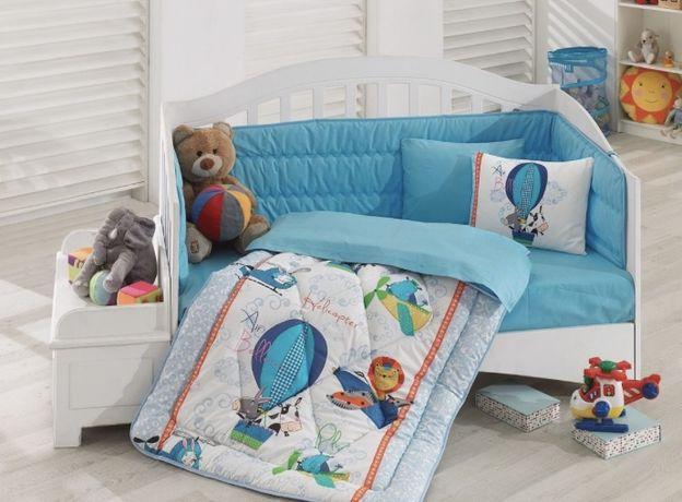 Cotton box Набор постельного белья, бортики, детское постельное