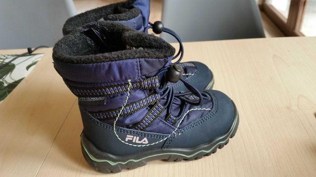 Buty zimowe chłopięce fila 22