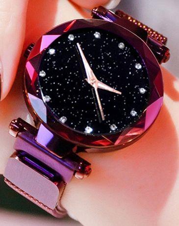 Часы женские, Starry Sky Watch, звездное небо, кварцевые