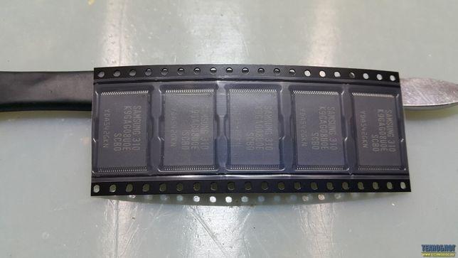 Замена флеш памяти eMMC, NAND в телевизорах Samsung