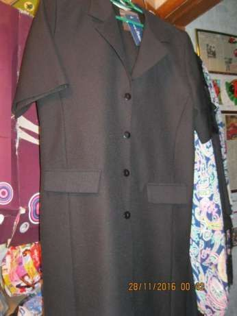 платье офисное ярко черное строгое 12-14 46-48 М ANNA Morelle стильное
