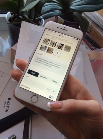 Пара iPhone 8 256Gb Gold + iwatch 3 series Gold 38 mm Б/У Херсон