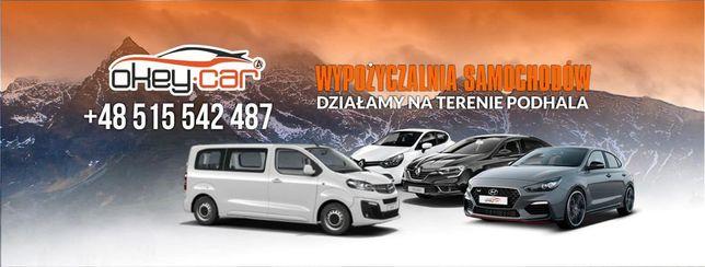 Wypożyczalnia samochodów OKEY-CAR Nowy Targ / Najtaniej na Podhalu!!!