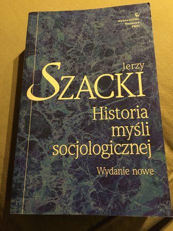 """Jerzy Szacki """"Historia myśli socjologicznej"""""""