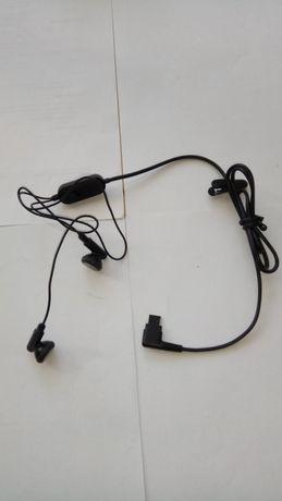 Słuchawki douszne do telefonu Samsung, płaska wtyczka