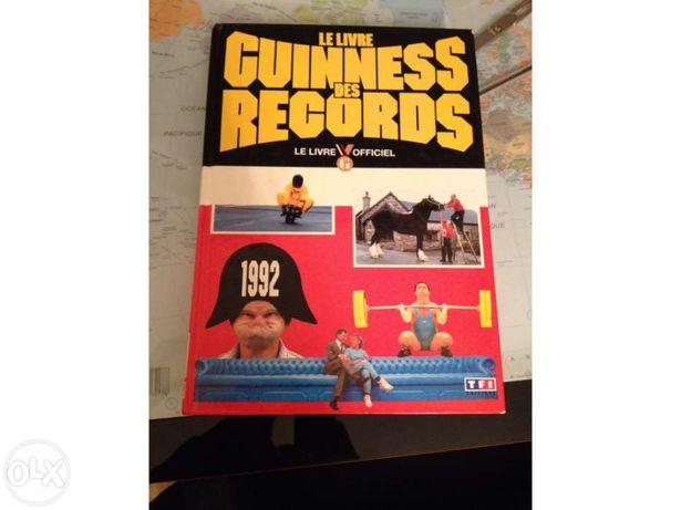 Livro Guiness Records