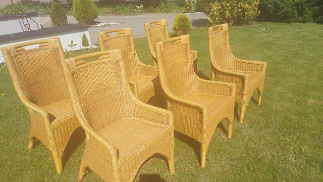 Sprzedam krzesła  wiklina