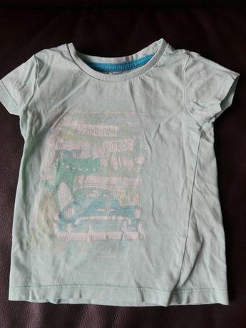 Koszulka chłopięca z krótkim rękawem roz. 80