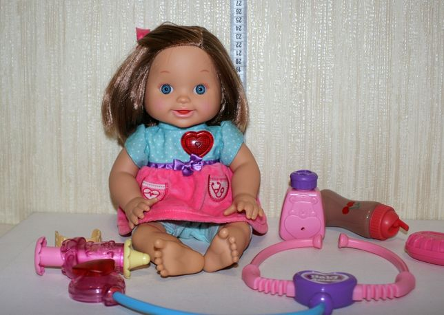 интерактивная кукла пупс Я болею вылечи меня vtech доктор больница