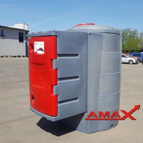 Zbiornik dwupłaszczowy ATESTY 1500, 1600 L na paliwo ropę RATY AMAX