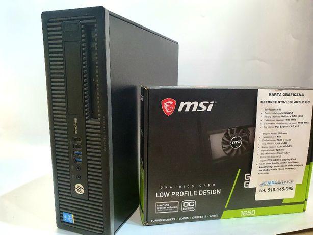 GAMINGOWY komputer HP/i5-4570/16GB RAM/GTX-1650/GW12