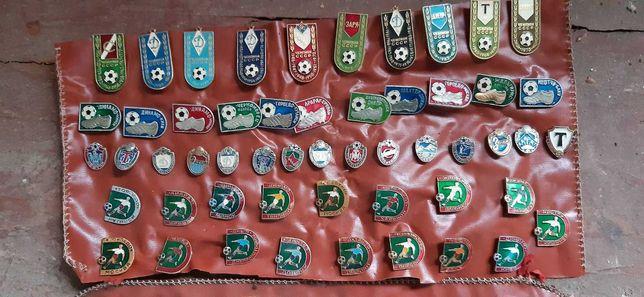 Коллекция значков Чемпионы СССР по футболу