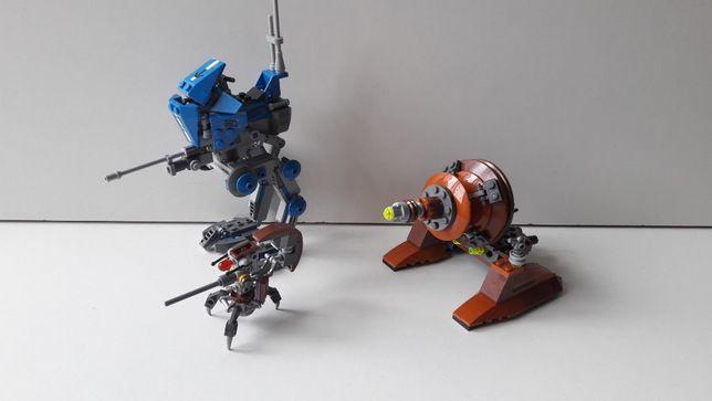 Lego 75002 At-Rt oraz 9491 Geonosian Cannon