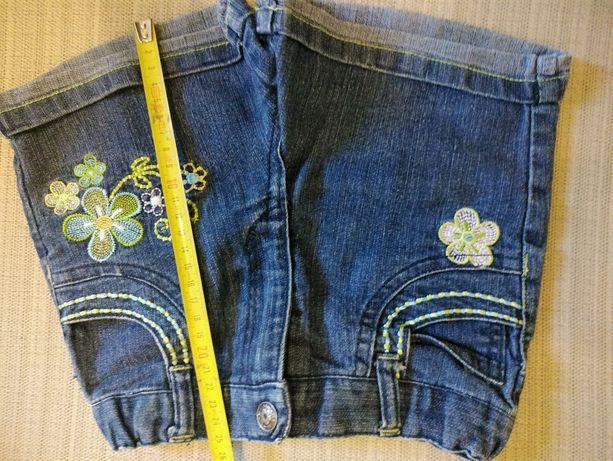 Джинсовые шорты девочке 3-5 л