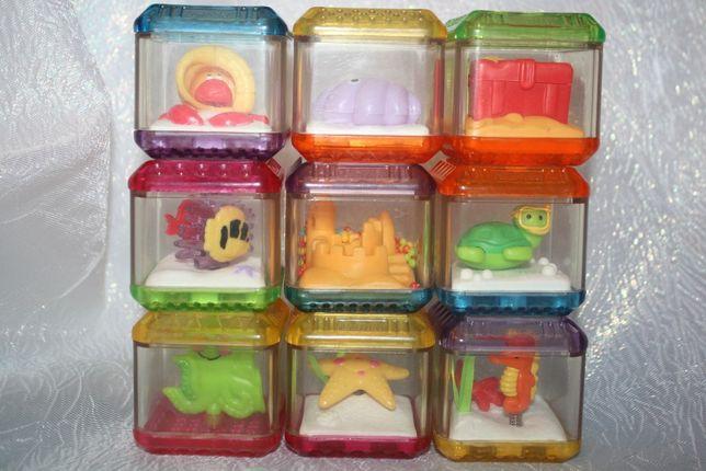 кубики fisher price набор 9шт.