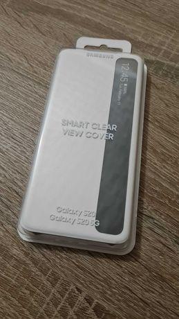 Etui Samsung S20 Clear View Biały AOD Galaxy