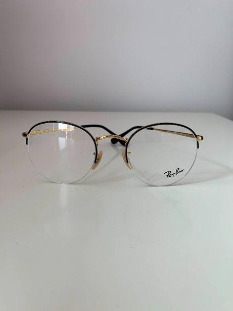 oprawki okularowe okrągłe ray ban