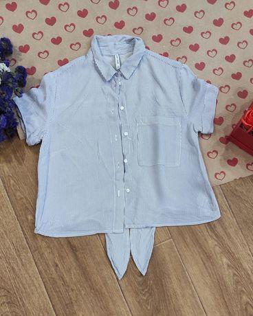 Рубашка Bershka, укороченная рубашка.