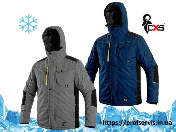 Спецодежда Спецодяг Спецодежда зимняя Куртка теплая для работы Чехия