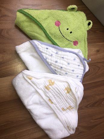 Ręcznik kąpielowy z kapturem dla dziecka