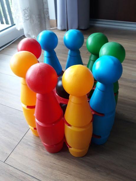 Kolorowe kręgle dla dzieci - 11 elementów